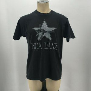 VTG Fruit Of The Loom NCA Danz Graphic T Shirt Sin